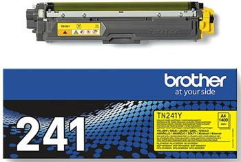toner BROTHER TN-241Yellow HL-3140CW/3150CDW/3170CDW, DCP-9020CDW, MFC-9140CDN