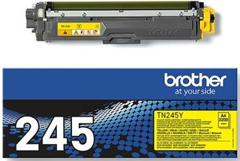 toner BROTHER TN-245 Yellow HL-3140CW/3150CDW/3170CDW, DCP-9020CDW, MFC-9140CDN