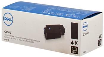 toner DELL 4G9HP Black C1660w (1.250 str.)