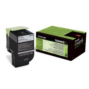 Toner Lexmark CS310/CS410/CS510 702HK BLACK 4K