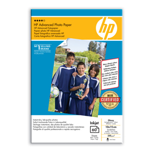 PAPIER HP Q8008A Advanced Glossy Photo,250g,10x15cm,borderless,60ks