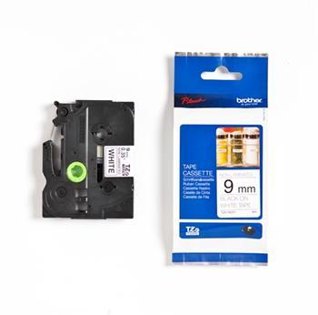páska BROTHER TZeN221 čierne písmo, biela páska nelaminovná NON LAMINATED Tape (9mm)