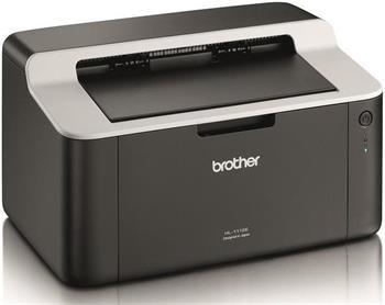 tlačiareň laser čb BROTHER HL-1112E - 20ppm/A4, USB 2.0