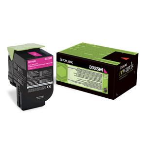 Toner Lexmark CX310/CX410/CX510 802SM MAGENTA 2K