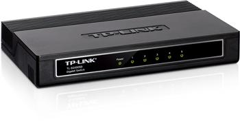 Mini Desktop Gigabit Switch TP-LINK TL-SG1005D 5-port 10/100/10000M, 5x 10/100/1000M RJ45 ports, Plastic case