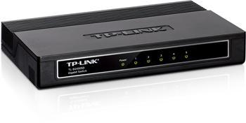 Mini Desktop Gigabit Switch TP-LINK TL-SG1005D 5-port 10/100/10000M, 5x 10/100/1000M RJ45 ports, Plastic case