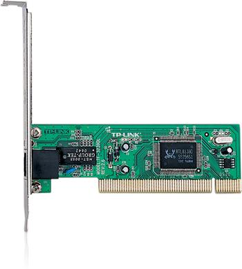 PCI Network Adapter TP-LINK TF-3239DL 10/100Mbps, Realtek RTL8139D chip