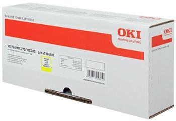 toner OKI MC760/MC770/MC780 yellow (6.000 str.)