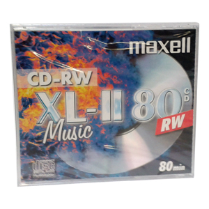 CD-RW MAXELL AUDIO 80 min (1ks v hrubom obale)