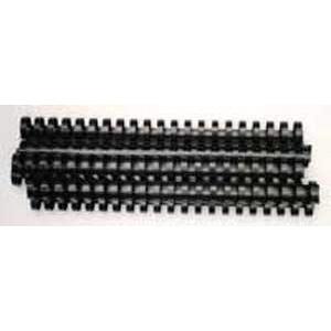 Plastové hrebene 22 čierne balenie 50 ks 151-180 listov A4