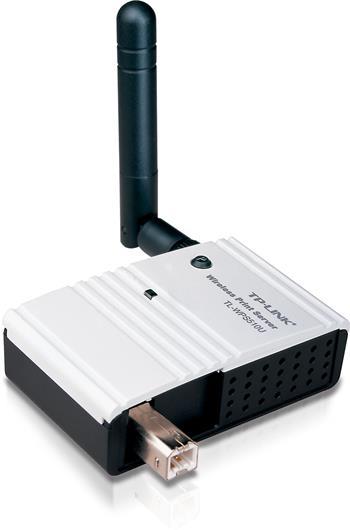 Printserver TP-LINK TL-WPS510U, WiFi , USB 2.0, 802.11 g/b, odnímatelná anténa
