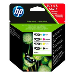 KAZETA HP C2N92AE 4-pack No.920XL čierna, azúrová, purpurová, žltá