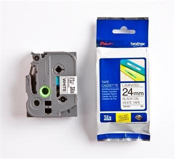 páska BROTHER TZ251 čierne písmo, biela páska Tape (24mm)