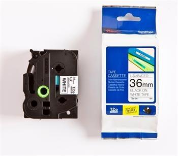 páska BROTHER TZ261 čierne písmo, biela páska Tape (36mm)