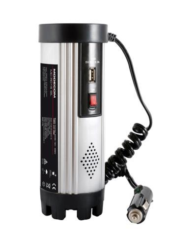MODECOM MC R015 DC/AC menič napätia (invertor) z 12V/24V na 230V 150W, USB port