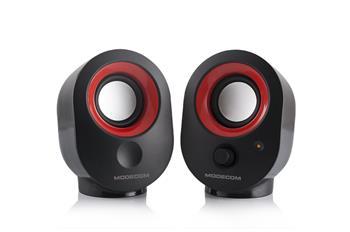 Reproduktory Modecom MC-XS5 black-red (čierno-červené)