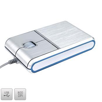 Myš Modecom MC-901 USB optická - hliníkové telo