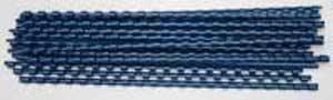 Plastové hrebene 6 modré 53451