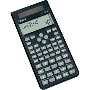 vedecká kalkulačka CANON F-718SGA, 264 vedeckých a štatistických funkcií