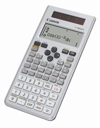 vedecká kalkulačka CANON F-789SGA, 605 vedeckých a štatistických funkcií