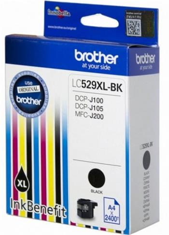 kazeta BROTHER LC-529XL Black DCP-J100/J105, MFC-J200