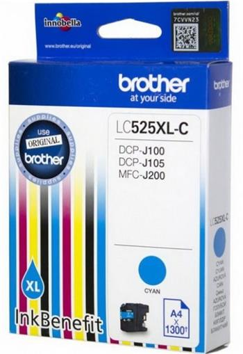 kazeta BROTHER LC-525XL Cyan DCP-J100/J105, MFC-J200