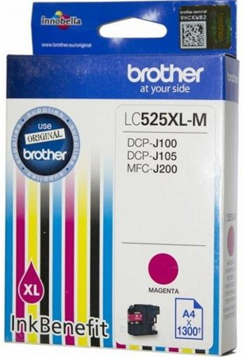 kazeta BROTHER LC-525XL Magenta DCP-J100/J105, MFC-J200