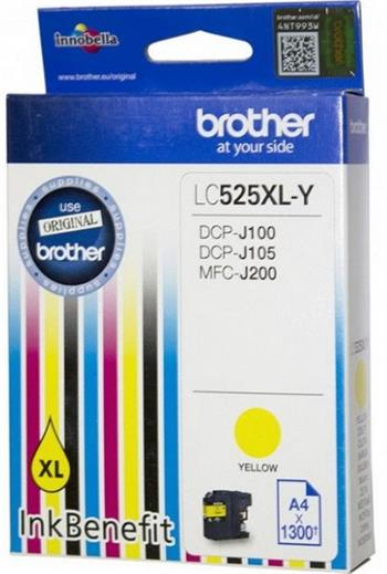 kazeta BROTHER LC-525XL Yellow DCP-J100/J105, MFC-J200