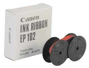 páska CANON EP-102 čierno-červená pre kalkulačky MP-1211D/DL/DE/LTS/1411LTS, P-4420DH