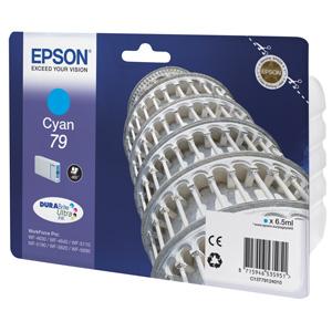 kazeta EPSON WorkForce WF-5620,5690,5190,5000 seria cyan L (800 strán)