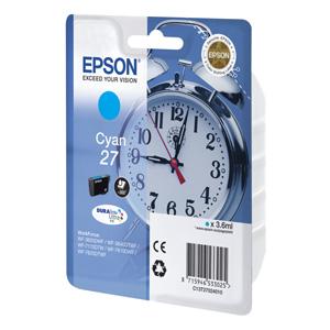 kazeta EPSON WF-3620,3640,7110,7610,7620 T2702 27 DURABrite Cyan