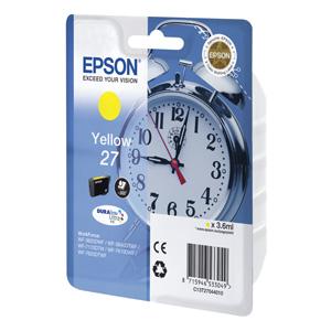 kazeta EPSON WF-3620,3640,7110,7610,7620  T2704 27 DURABrite Yellow