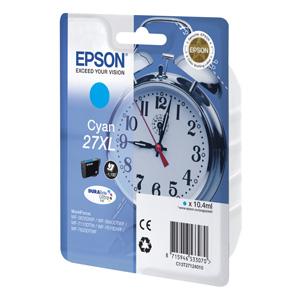 kazeta EPSON WF-3620,3640,7110,7610,7620  T2712 27XL DURABrite Cyan  (1.100str)