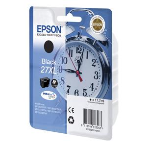 kazeta EPSON WF-3620,3640,7110,7610,7620  T2711 27XL DURABrite Black  (1.100str)