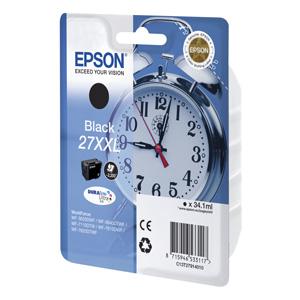 kazeta EPSON WF-3620,3640,7110,7610,7620  T2711 27XXL DURABrite Black  (2.200str)