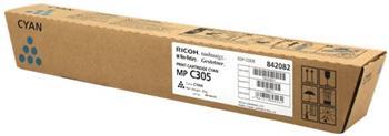 toner RICOH Typ C305E Cyan Aficio MP C305