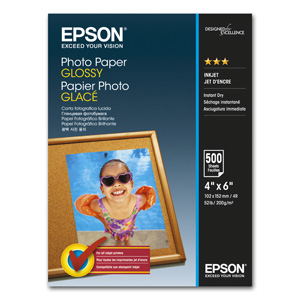 papier EPSON S042549 photo glossy 10x15, 500ks, 200g/m2