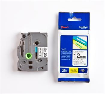páska BROTHER TZ231S2 čierne písmo, biela páska Tape (12mm)