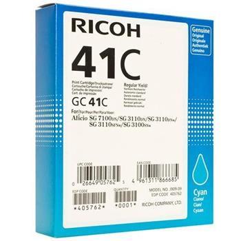 toner RICOH Typ GC 41 Cyan Aficio SG 2110/SG 3100/SG 3110/SG 7100
