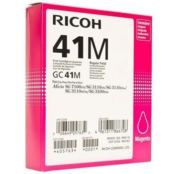 toner RICOH Typ GC 41 Magenta Aficio SG 2110/SG 3100/SG 3110/SG 7100