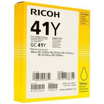 toner RICOH Typ GC 41 Yellow Aficio SG 2110/SG 3100/SG 3110/SG 7100