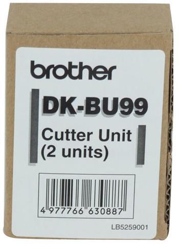 rezací nôž BROTHER DKBU99 pre QL popisovače (2ks)