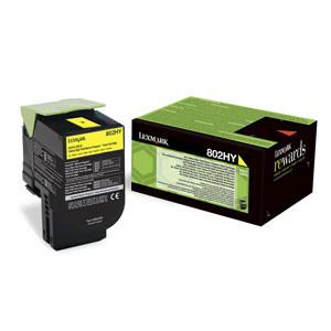 Toner Lexmark CX510  802XY 4K YELLOW