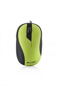 Myš Modecom káblová USB 2.0 Logic LM14 GREEN (zelená)