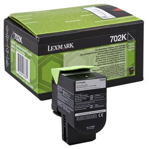 Toner Lexmark CS310/CS410/CS510 702K BLACK 1K