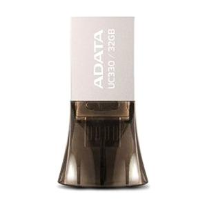 USB kľúč ADATA 32GB UC330 USB 2.0 OTG kovový + micro USB