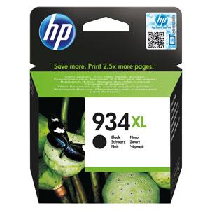 KAZETA HP C2P23AE Čierna No.934XL