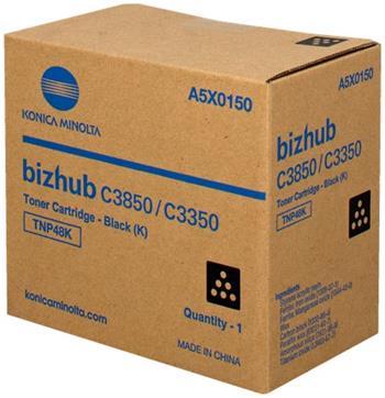 toner MINOLTA TNP48K black Bizhub C3350/C3850