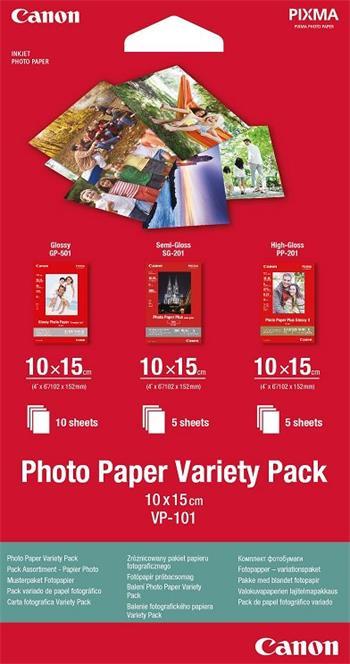 Canon Papier Variety Pack VP-101 10x15cm 10+5+5ks (VP101)