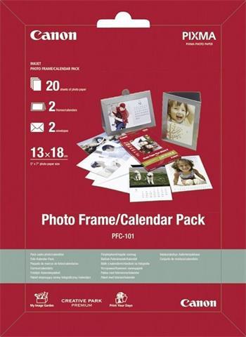 Canon Papier Photo Frame/Calendar Pack PFC-101 13x18cm (PFC101)